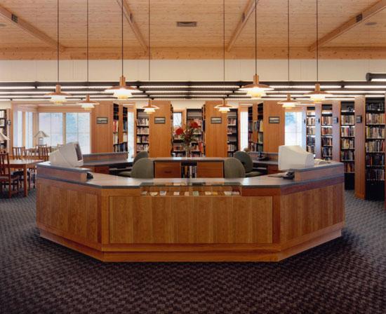 circulation public service desks copyright 2016 library design - Library Circulation Desk Design